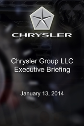 Chrysler Group LLC Executive Briefing