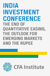 The End of Quantitative Easing, the Outlook for Emerging Markets and the Rupee (Live Broadcast)