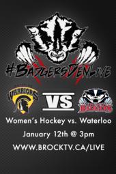 Women's Hockey vs. Waterloo