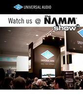 Universal Audio LIVE! @ NAMM 2014
