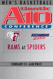 Fordham at Richmond Basketball