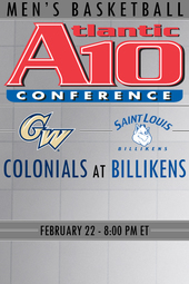 2.22.14 George Washington at Saint Louis Basketball