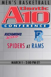 Richmond at Rhode Island Basketball