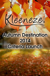 Autumn Destination 2014 Criteria Launch