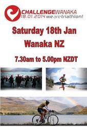 Challenge Wanaka Triathlon 2014