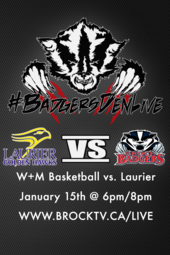 W+M Basketball vs Laurier