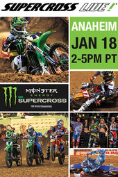 Anaheim - Jan 18, 2014 :: Supercross LIVE!