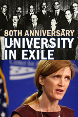 University in Exile 80th Anniversary