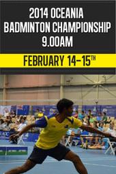 2014 Oceania Badminton Championship