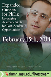 Expanded Careers for PhDs