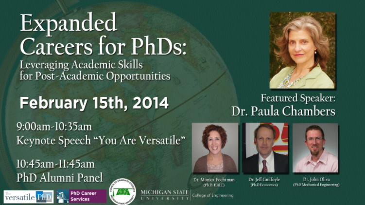 livestream cover image for Expanded Careers for PhDs