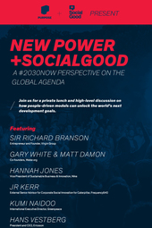 New Power +SocialGood