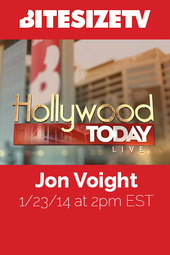 Jon Voight Live on Hollywood Today at BiteSize TV