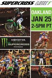 Oakland Jan. 25, 2014 :: Supercross LIVE!
