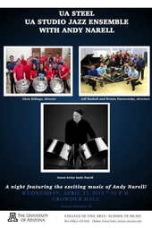 UA Steel Bands with Andy Narell and the UA Studio Combo