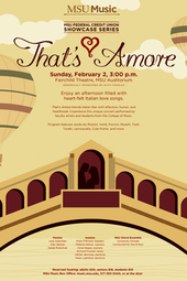 That's Amore | MSUFCU Showcase Series