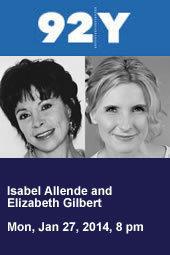 Isabel Allende and Elizabeth Gilbert