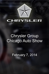 Chrysler Group Chicago Auto Show
