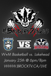 W+M Basketball vs. Lakehead