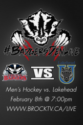 Men's Hockey vs Lakehead