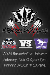 W+M Basketball vs. Western