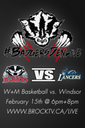 W+M Basketball vs. Windsor