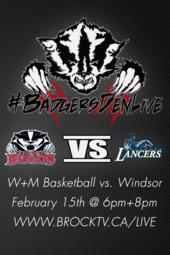 W+M Basketball vs. Windsor