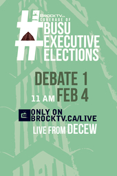 #BUSUElections February Executive Debate #1