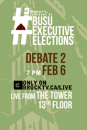 #BUSUElections February Executive Debate #2