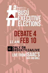 #BUSUElections February Executive Debate #4
