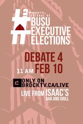 #BUSUElections February Executive Debate #4