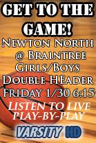 Newton North @ Braintree Girls Hoops