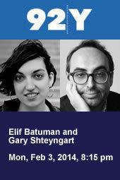 Elif Batuman and Gary Shteyngart
