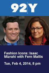 Fashion Icons: Isaac Mizrahi with Fern Mallis
