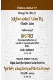 "Creighton Michael's ""Pattern Play"""