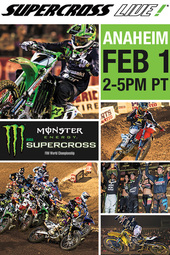 Supercross LIVE! from Anaheim - Feb. 1, 2014