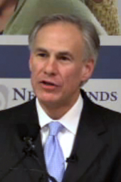 "Greg Abbott's ""Securing Texans"" Event"