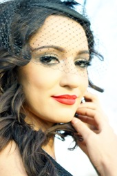 Country singer Lindi Ortega in the News Café