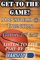 Mansfield @ Taunton Boys Basketball