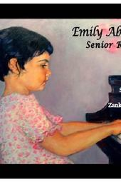 Emily Abeshouse Senior Recital