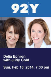 Delia Ephron with Judy Gold
