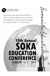 10th Annual Soka Education Conference