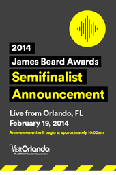 James Beard Foundation Awards Semifinalist Announcement