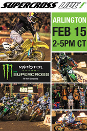 Arlington 2/15/14 - Supercross LIVE!