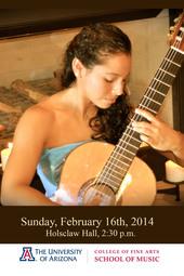Kathy Zavala, Guitar Senior Recital