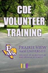 CDE Volunteer Training 2