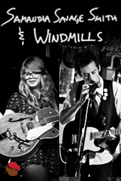 Samantha Savage Smith & Windmills live at Streaming Cafe