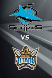 Sharks vs Titans