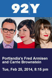 Portlandia's Fred Armisen and Carrie Brownstein