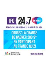 TFO 24.7 - Les Rendez-vous de la Francophonie
